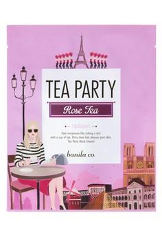 Tea Party Mask Sheet - Rose Tea (Radiant)