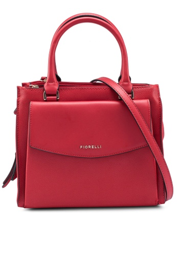 Fiorelli red Mia Flat Grain Grab Bag 02E62AC8F2EA16GS_1