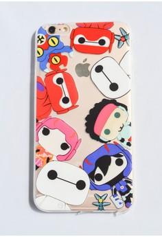 Big Hero 6 Soft Transparent Case for iPhone 6 plus/ 6s plus