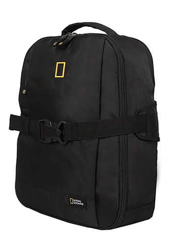 National Geographic black National Geographic Recovery 2 Compartment Backpack EEB05ACE457187GS_1