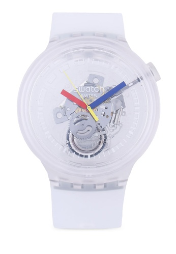 Swatch white Big Bold Jellyfish Watch 34151ACFD73300GS_1