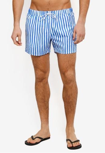 Topman blue Blue Paint Stripe TO413US0T1IWMY_1