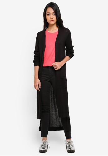 Cotton On black Ellie 2 Longline Cardigan 9DDFFAA5B77D8CGS_1