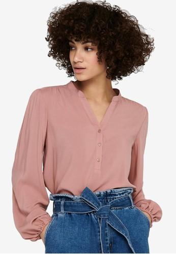 JACQUELINE DE YONG pink Marlon Woven Shirt 521A0AA3BD644CGS_1