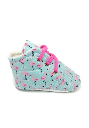 Aikaydan pink and blue and multi Flamingo Sneakers 5A502KSF1F5ACCGS_1