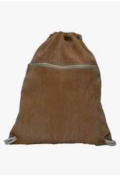 Hanz Big Denim Drawstring Bag