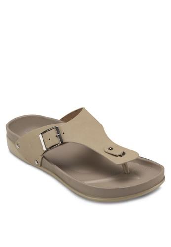 勃esprit hk store肯風夾腳涼鞋, 女鞋, 涼鞋