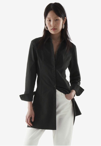 COS black Tailored Shirt Dress D5C4CAA94E6DB9GS_1