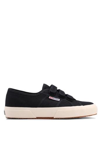 Superga black Cot3Strapu Sneakers B763ESHB42456DGS_1