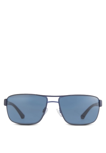Emporio Armani blue Essential Leasure Steel Man Sunglasses EM712GL16WMHSG_1