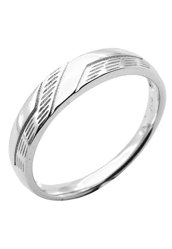 Elfi silver Elfi 925 Sterling Silver Fashion Male Ring P30 A976FAC1243959GS_1
