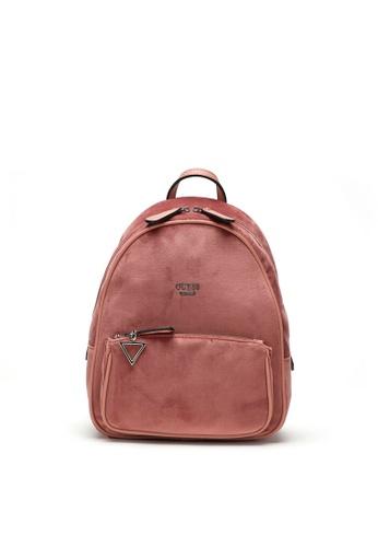 3e7a2b89656c Buy Guess Guess Rockbeat Velvet Backpack