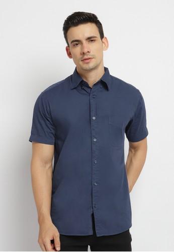 Poshboy blue and navy Poshboy Elmo Shirt Navy 8A9E2AA29F5658GS_1