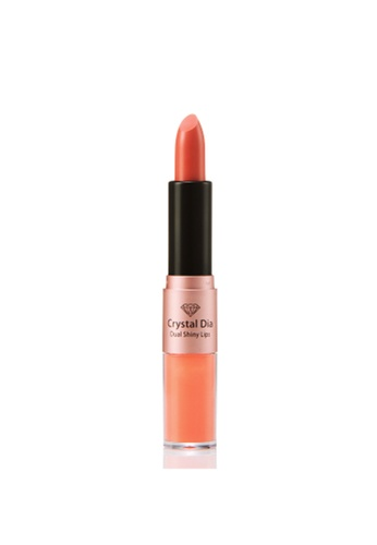 Talent Cosmetics pink Talent - Crystal Dia Shiny Lips 04 Beige Pink TA526BE0RA40MY_1