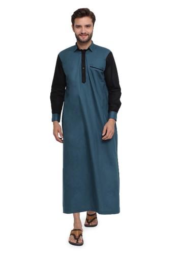 Java Seven Muslimwear blue Namira 46623AA4788145GS_1