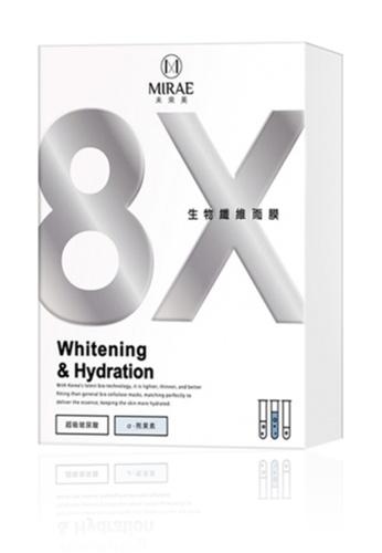 Mirae Mirae 8x Bio Cellulose Mask 3s [#Whitening] MI728BE0S6QVMY_1