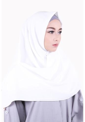 Zelena Shaylee Hijab Square - Snow White