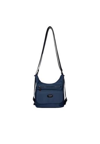 Pierre Cardin blue Pierre Cardin Premium Medium Shoulder Bag 4F299ACAAB0166GS_1