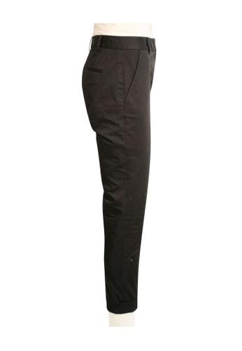 DKNY black dkny Black Classic Cotton Pants 1D5AFAAF8556A1GS_1