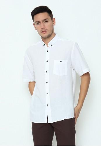 17seven Original white 17SEVEN Shortshirt 00052-W01-PUTIH B4FA2AA95FAE38GS_1