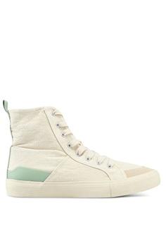 Mango green High Top Sneakers F352ASHA933F14GS 1 d2ad892d6