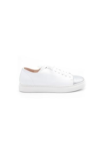 Elisa Litz white Mariel Sneakers (White) 0CF17SHC387AB4GS_1