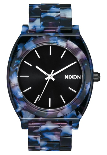Nixon black Time Teller 40mm - Acetate Black/Multi (A3272336) 644C1AC32113B0GS_1
