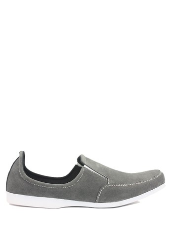Dr. Kevin grey Dr. Kevin Men Casual Shoes Slip On 13127 - Grey DR982SH0U9J1ID_1