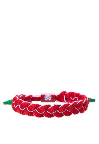 Rastaclat red Shoelace Bracelet: Sriracha RA072AC0ISBFPH_1