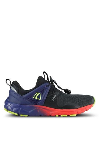 League black Poste Running Shoes LE683SH0S2OKMY_1