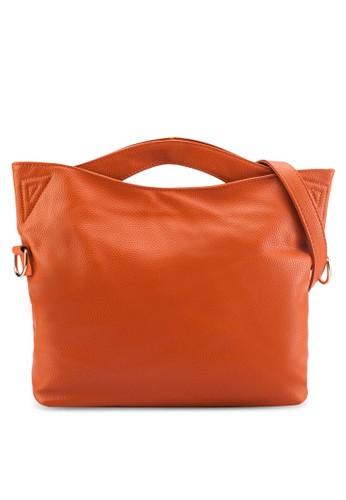 簡約鵝卵紋手提包, 韓系時尚, 梳esprit暢貨中心妝