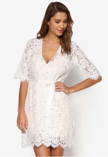 Natalia 蕾絲睡袍睡裙組合, 服飾,esprit分店 睡袍