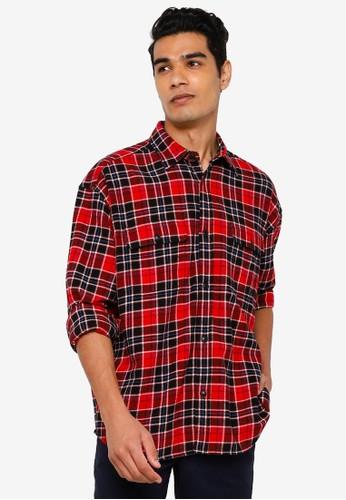 Gap red Jac Cny Woven Shirt B0241AAF54DB7DGS_1