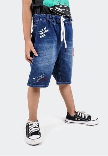 CELCIUS KIDS blue Celana pendek anak A08475K Blue 386B3KAA0F6EFAGS_1