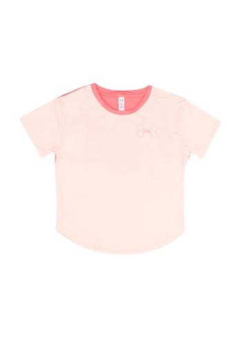 Under Armour pink UA HG Short Sleeve Tee C8F08KA86B04E0GS_1