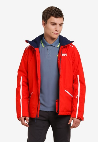 Helly Hansen red HH M VISTA JACKET ALERT RED HE448AA0FV1YSG_1