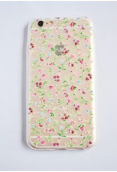 Small Flower Vines Soft Transparent Case for iPhone 6