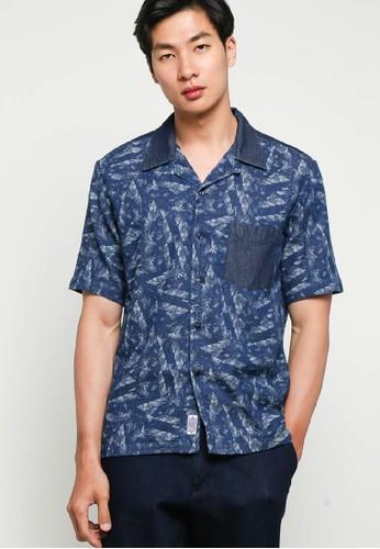 Jackhammer Co blue Denim Charlie Shirt Clove 1D5B2AA89537D7GS_1