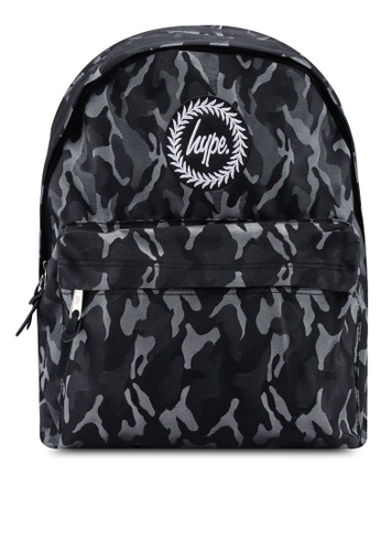 Just Hype black Camo Backpack 9FC06ACD878187GS_1