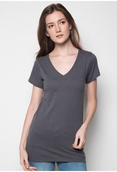 V-Neck Small Pocket