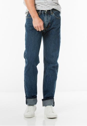 Levi's blue Levi's 505 Regular Fit Jeans LE815AA0RFRNMY_1