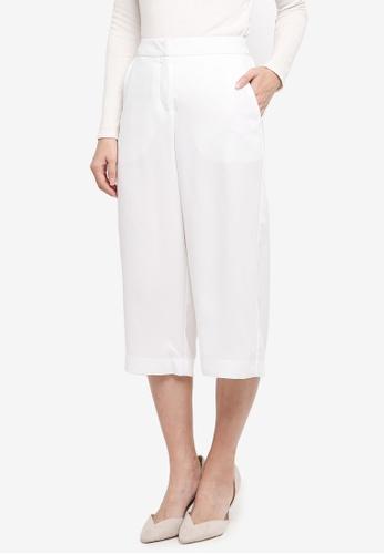 Vero Moda white Vero Moda Culotte Pant 23CAAAA22CCB22GS_1