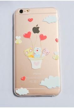 Heart Air Ballon Soft Transparent Case for iPhone 6 plus/ 6s plus