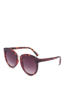 d4a72cbd96a Elitrend Unisex Half Frame Designer Glasses in Leopard Brown S  14.90 · Mia  Full Frame Sunglasses 9C50EGL160BF64GS 1