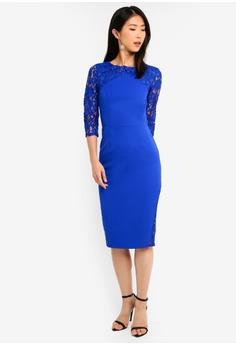 9b25a306a2 75% OFF Paper Dolls Cobalt Midi Dress S  111.90 NOW S  27.90 Sizes 8 10 12