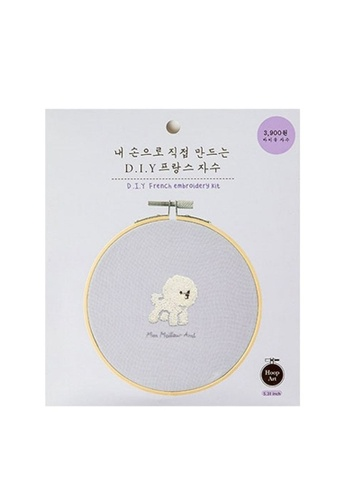 Klosh Embroidery Kit - French Poodle 5EA5BHL76988D4GS_1