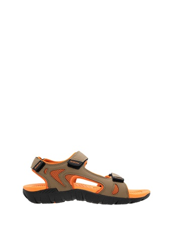 SEMBONIA orange SEMBONIA Men Microfiber Sandal (Orange) BDE77SHB3B1278GS_1