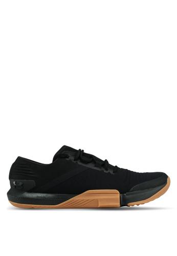 Under Armour black UA TriBase Reign Shoes 77DE7SH0AFC5F1GS_1