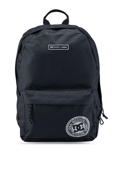 18685e2901 DC Shoes black Backstack Backpack 14A58ACAEA06DAGS 1