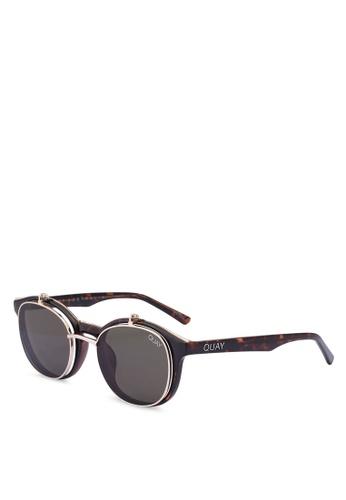 Quay Australia brown PENNY ROYAL Sunglasses 79ECAGL7EDAD2BGS_1